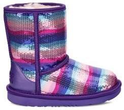 UGG Girl's Sequin Embellished Sheepskin UGGpure Boots