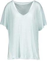 Majestic Layered Slub Linen T-Shirt