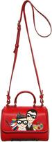 Dolce & Gabbana Family Nappa Leather Shoulder Bag