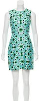 Kate Spade Sleeveless Pattern Printed Mini Dress