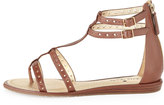 Kate Spade Adagio Leather Gladiator Sandal, Luggage
