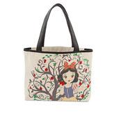 Disney Snow White Canvas Tote Bag