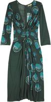 Shell print dress