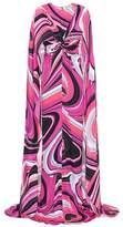 Emilio Pucci Printed silk-blend gown