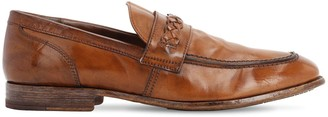 Moma Waxed Leather Loafers