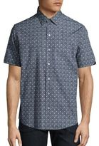 Zachary Prell Short Sleeve Solid Shirt
