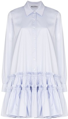 Molly Goddard Ithaca ruffled mini dress