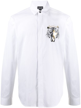 Just Cavalli Tiger Print Regular-Fit Shirt