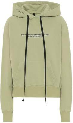 Unravel Cotton hoodie