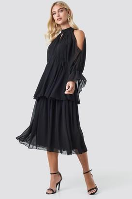 Trendyol No Shoulder Long Sleeve Dress