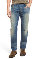 Raleigh Denim &Jones& Slim Fit Distressed Jeans