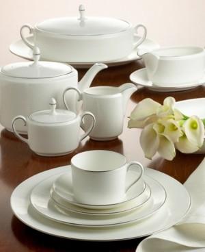 "Vera Wang Wedgwood Ivory Trellis"" Tea Saucer, Imperial"
