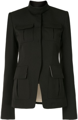 Vera Wang Military Style Tailored Jacket