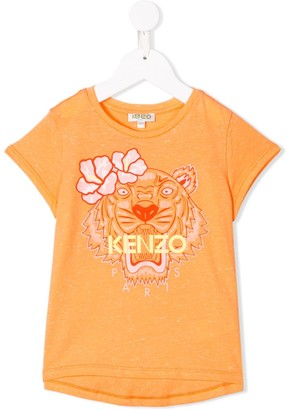 Kenzo Kids Hawaiian Tiger T-shirt