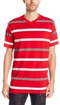 Akademiks Men's Monarch Striped T-Shirt