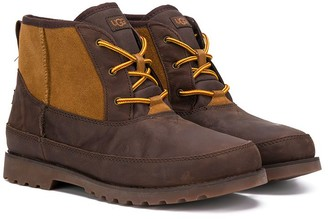 UGG TEEN lace-up ankle boots