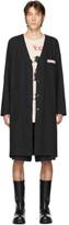 Raf Simons Black Classic Labo Coat