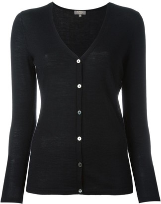 N.Peal Cashmere Superfine V-Neck Cardigan