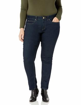 Rafaella RDenim with Benefits(TM) Women's Plus Size Weekend Skinny Slim Fit Jeans