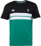 Canterbury of New Zealand Mens Ireland Cut & Sew T-Shirt Bosphorus