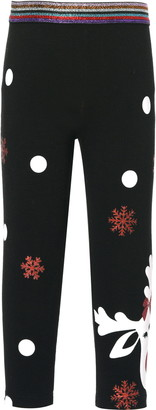 Truly Me Kids' Reindeer Leggings
