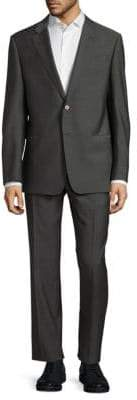 Giorgio Armani Two-Button Wool Suit