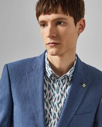 Ted Baker Debonair Slim Fit Linen Blend Jacket