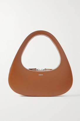 Coperni Swipe Leather Tote - Tan