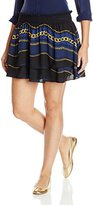 Juicy Couture Black Label Women's Royal Windsor Mini Skirt