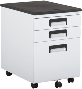 Studio Designs Office Metal Rolling File Cabinet