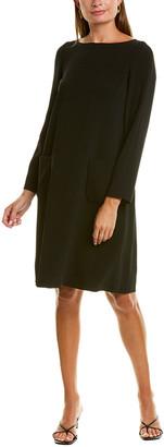 Max Mara Siri Wool Shift Dress