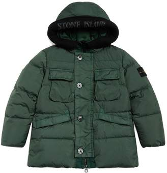 Stone Island Junior Hooded Down Jacket