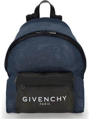 Givenchy Urban Logo-print Mesh Backpack