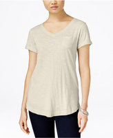 Style&Co. Style & Co. V-Neck T-Shirt, Only at Macy's