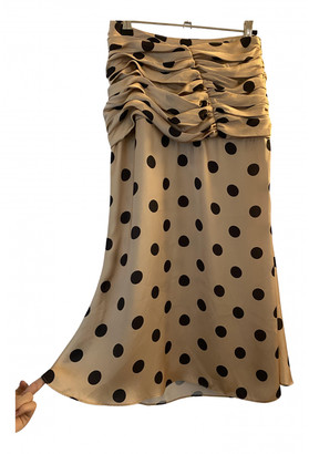 Orseund Iris Black Viscose Skirts