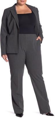 Halogen Ela Taylor Straight Leg Pants (Plus Size)