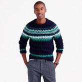 Brushed Wool Fair Isle Sweater