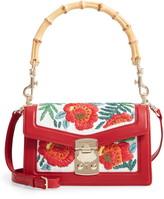 Miu Miu Canapa Confidential Embroidered Handle Bag