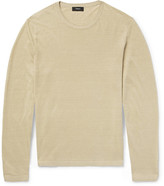 Theory Berthos Linen-Blend Sweater