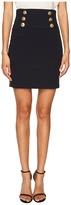 Pierre Balmain Embellished Button Skirt Women's Skirt
