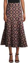 Temperley London Women's Long Onyx Evening Skirt