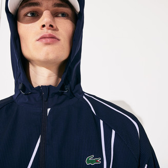 Lacoste Men's SPORT French Open Hooded Zip Jacket