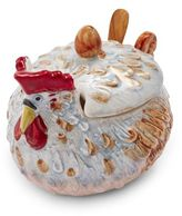 Sur La Table Jacques Pépin Collection Chicken Sugar Bowl