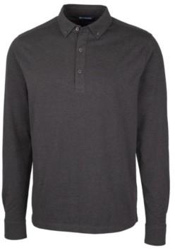 Cutter & Buck Men's Advantage Jersey Long Sleeve Polo Shirt