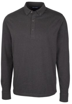 Cutter & Buck Men's Advantage Jersey Long Sleeve Polo Shirt
