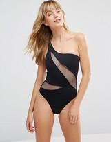 Pour Moi? Pour Moi One Shoulder Swimsuit