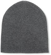 Sofia Cashmere Women's Knit Hat, Solid Charcoal