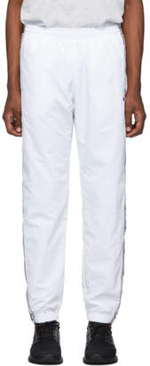 Champion Reverse Weave White Elastic Cuff Lounge Pants