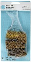 Martha Stewart 32228 Sea Sponge, Set Of 6