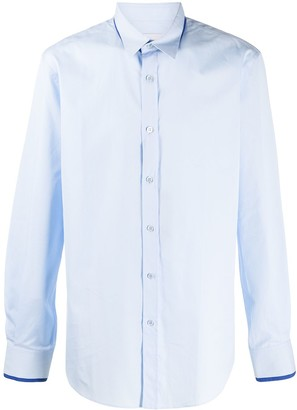 Alexander McQueen Double-Collar Long-Sleeved Shirt